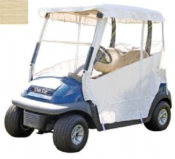 Club Car, 3-sided, no Velcro enclosure. (Precedent)